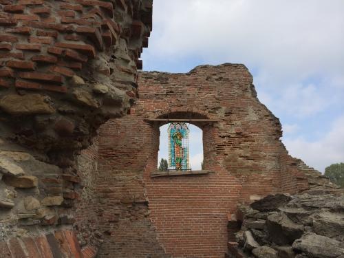 Ruinele Palatului Domnes